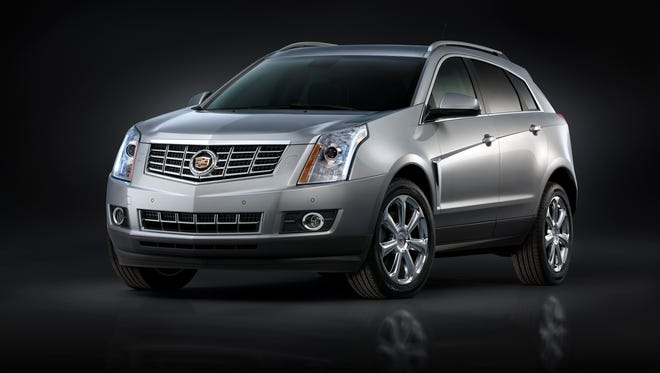 Cadillac SRX crossover SUV is the brand's best-seller. A new design goes into production at Spring Hill, Tenn., very late next year and on sale in the U.S. early in 2016.