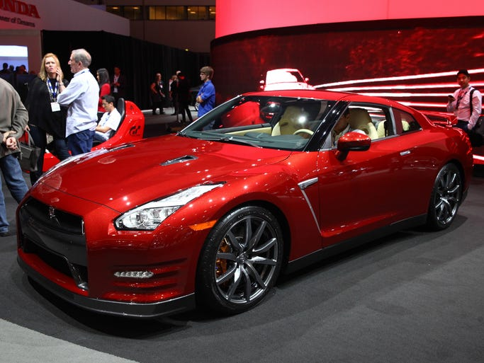At The L A Auto Show In Photos