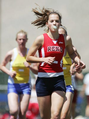 Mel Lawrence, shown during her time at Reno High, has qualified for the U.S. Olympic trials.