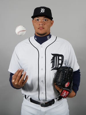 Detroit Tigers pitcher Joe Jimenez