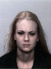 Ashley Kimes, 26, was arrested on Thursday on a charge of prostitution.
