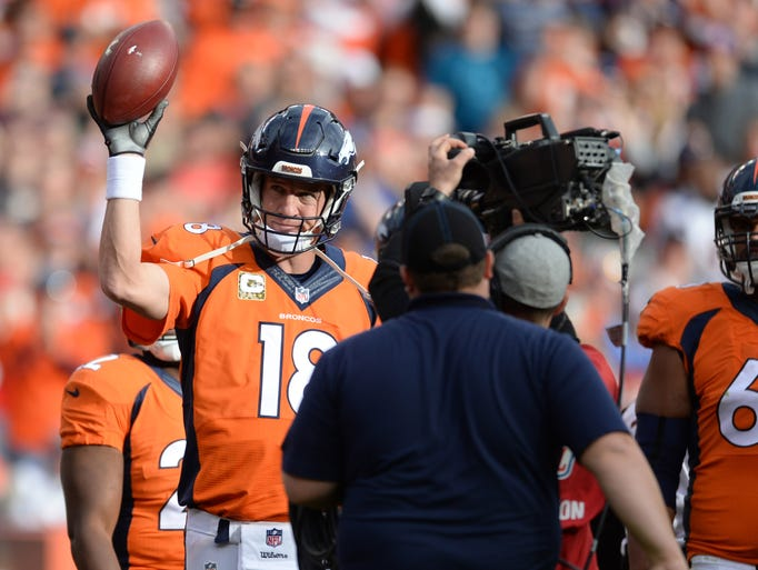 Peyton Manning added another record to his already