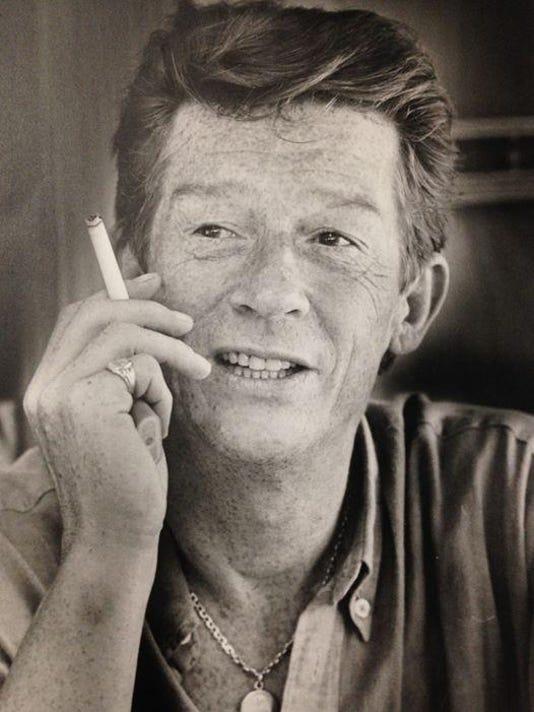 John Hurt smoking