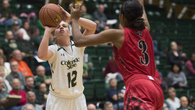 CSU freshman guard Callie Kaiser had 13 points in an 84-42 win over Western State at Moby Arena Friday night.