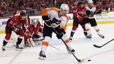 Brayden Schenn and the Flyers are looking to avoid going down 3-0 to the Washington Capitals
