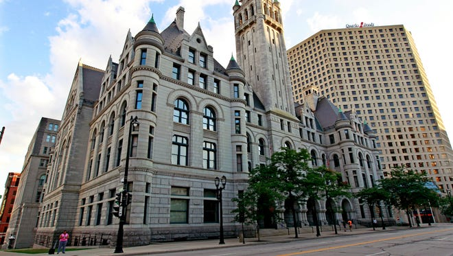 """The federal courthouse in Milwaukee. A Delafield resident who claims to be a """"sovereign citizen"""" was arrested July 24 and is in federal custody awaiting a probation revocation hearing."""