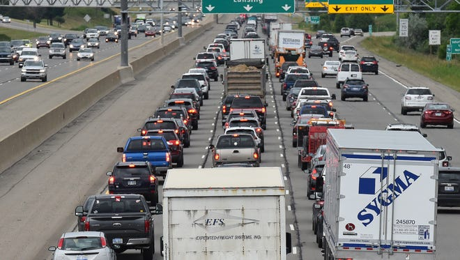 Getting through traffic in metro Detroit can be horrendous at times. Those who weekend up north hope they won't experience similar traffic once they're past the suburbs.