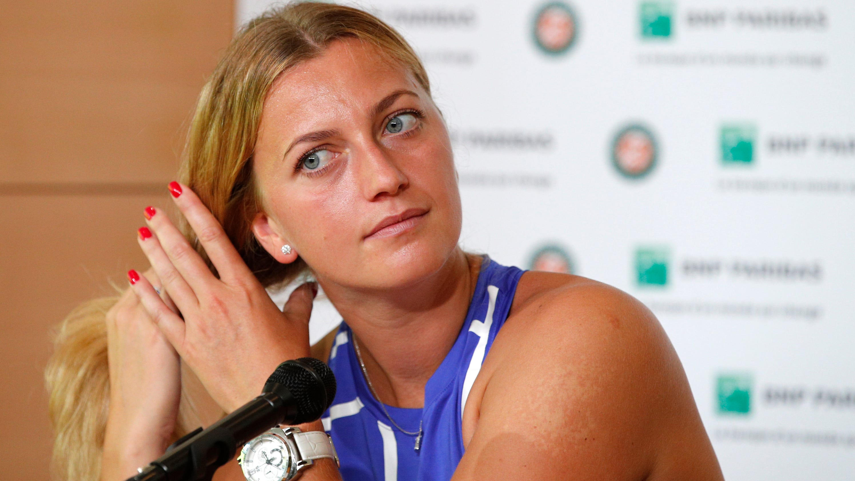 Petra Kvitova To Play At French Open Following Knife Attack