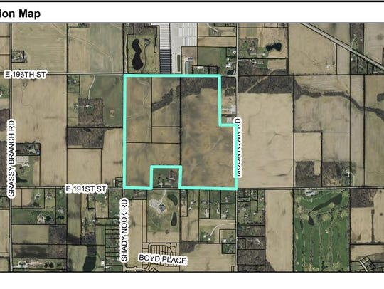 Westfield City Council is considering a 235-home subdivision
