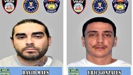 Information leading to the arrest of one or both of these fugitives could be worth a cash reward.
