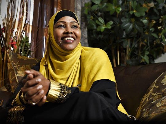 Anab Dahir talks about her plans to run for president of Somali in 2016.
