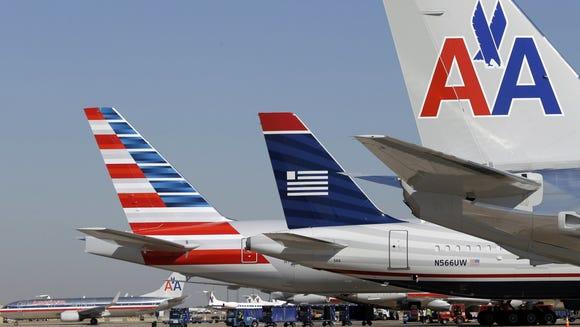 AP American Airlines-US Airways-Merger