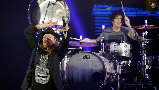 """Platinum selling and Grammy Awards winning rock band Mana brought their """"Mana The Latino Power Tour,"""" to the Don Haskins Center Wednesday night to a packed house."""