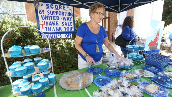 Photos from the Rutherford County Employee United Way Annual Chili Cook-off, held on the lawn of the Rutherford County Courthouse, on Wednesday, October 12, 2016, raised $1242.00 for the United Way.