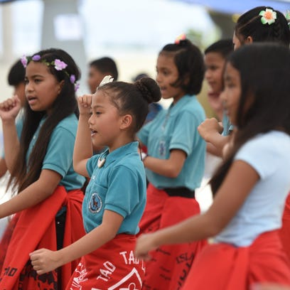 Students show off moves at Chamorro Village