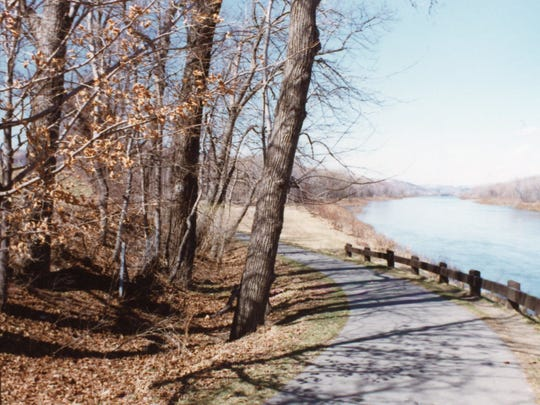 The location of where Barry Marquart's body was found in November 1980, near a rest area by the Chenango River in the Town of Dickinson.