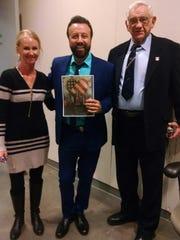Judy Theman, Yakov Smirnoff and Bob Gray. Smirnoff