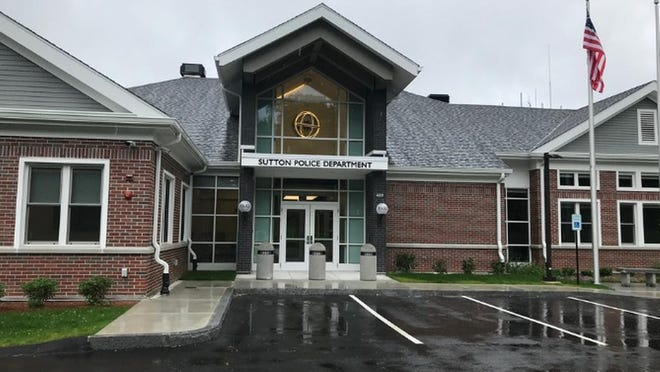 Construction companies in Milford and Franklin assisted in the construction of this new police station in Sutton.