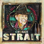 "George Strait announces four concert dates at the new Las Vegas Arena, scheduled to open in 2016, during the ""Strait to Vegas"" press conference held at MGM Grand Resort and Casino on Tuesday, Sept. 22, 2015, in Las Vegas."