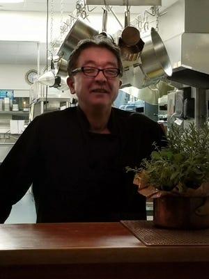 Sushi chef Suzuki of Orama