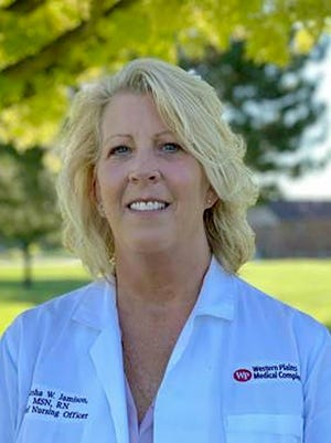 Marsha Jamison is the Chief Nursing Officer at Western Plains Medical Complex in Dodge City. SUBMITTED PHOTO