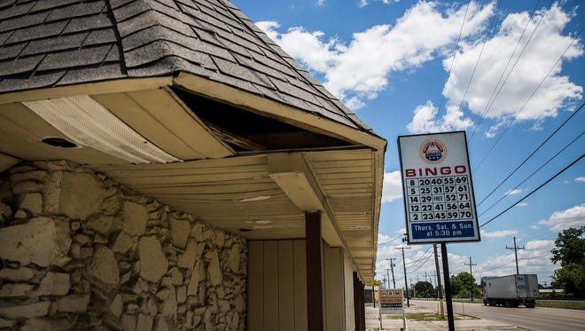 A former bowling alley and bingo hall sits empty on Kilgore Avenue Wednesday, June 8, 2016.