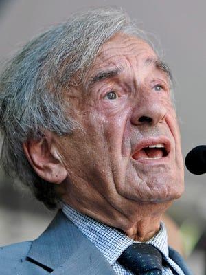 Nobel Laureate Elie Wiesel, seen here in 2006, died Saturday at age 87.