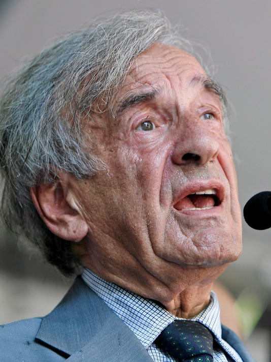 EPA FILE USA PEOPLE ELIE WIESEL DEATH HUM PEOPLE USA NY