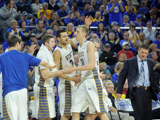Summit League Tournament USD - SDSU - Men's Basketball