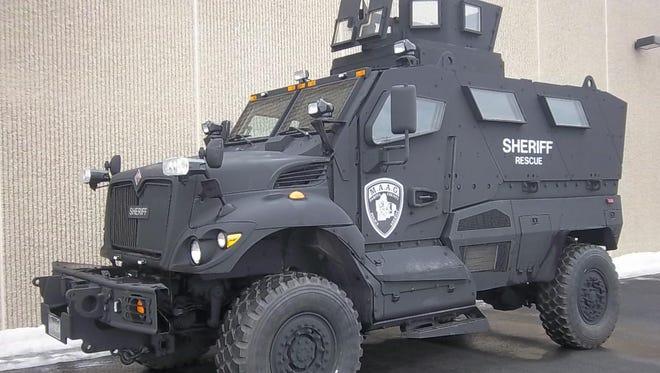 The Dakota County Sheriff's Office received Minnesota's first MRAP last August.
