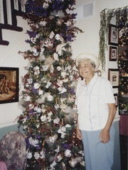 Doris Schwartz loved her Christmas tree, even though she wasn't big on celebrating the holidays.