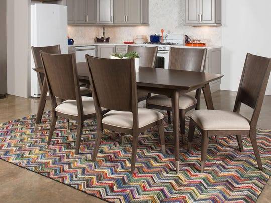 Inspired interiors rachael ray unveils collection of home for Rachael ray furniture collection