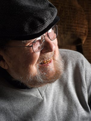 """Country/Bluegrass Hall of Famer Mac Wiseman, who, at the age of 91, is releasing a new album called """"I Sang the Song."""" Tuesday Jan. 3, 2017, in Nashville, Tenn."""