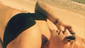 Demi Lovato enjoys a relaxing day on the beach in this Instagram snap.