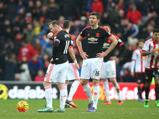 Jugadores del Manchester United afectados por la seguidilla
