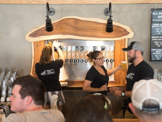 Walking Tree Brewery in Vero Beach was among the vendors at  last year's Treasure Coast Tourism Showcase at the Fenn Center in Fort Pierce.
