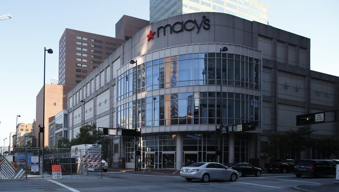 The Downtown Macy's at the northeast corner of Fifth and Race streets opened as a Lazarus in 1997 and will close in 2018.
