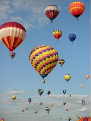 Every year, more than 100,000 people visit to Central Jersey to celebrate more than 100 hot air balloons from around the world.