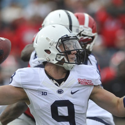 The Nittany Lions will start working on their new offense soon. Will sophomore Trace McSorley be leading it? Chat with me Monday for my quarterback breakdown.
