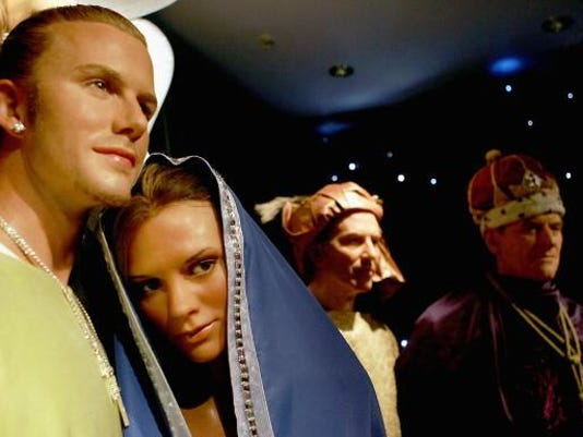 Madame Tussauds Celebrity Nativity Scene