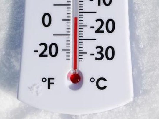 A cold wave will keep temperatures lower than normal