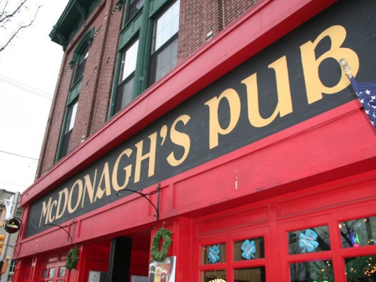 McDonagh's Pub in Keyport is a popular spot for St. Patrick's Day.