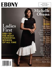 Former First Lady Michelle Obama on the cover of a