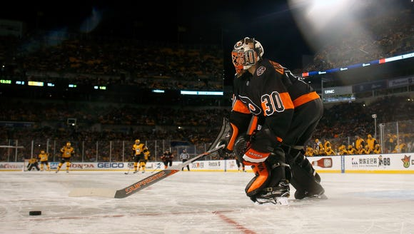 Michal Neuvirth could be part of a platoon next season,