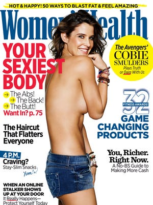 Cobie Smulders covers the May issue.