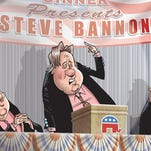 Breitbart's Steve Bannon speaks to Michigan GOP | Mike Thompson