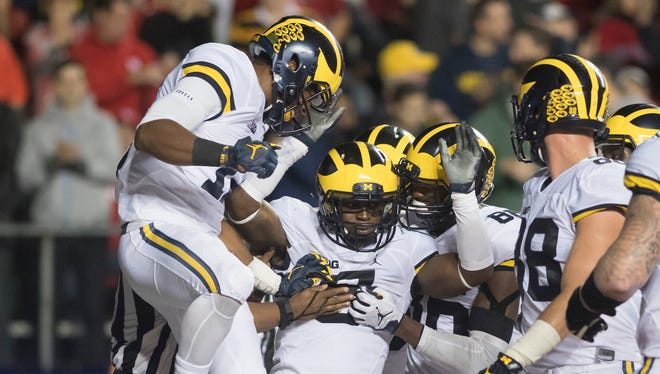 The third-ranked Michigan Wolverines travel to Columbus to face the second-ranked Buckeyes on Saturday.