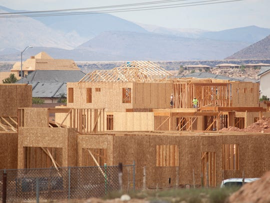 Home prices rise in Washington County as the building boom continues.