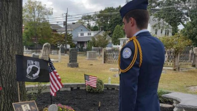 John Platt, 17, of Jackson, has lived a life inspired by that of his cousin Ronald Mayercik of Edison. Fiftyyears ago, Mayercik, 23, disappeared in a reconnaissance mission over Southeast Asia during the Vietnam War.  He, and other township military men and women, will be honored at 2 p.m. Saturday at St. James Episcopal Church in Edison.