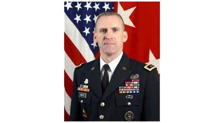 Maj. Gen. Robert P. White, currently a deputy chief of staff with Forces Command at Fort Bragg, N.C., is slated to become the new commanding general at Fort Bliss and the 1st Armored Division.